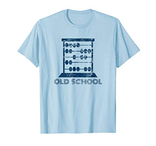 Abacus Old School Math t-shirt