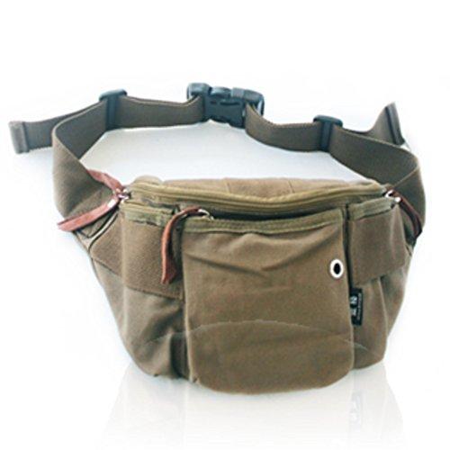Mini bolsillo de hombres/Bolsas de lona/Paquetes de ocio de estudiante/De los hombres al aire libre bolsillo-A B