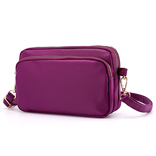 Purple Crossbody SCIEN 2 Purse Women for Cell Bags Small Phone 5gxgnq8Fw