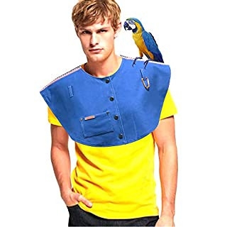 Bird Scratch-Resistant Shawl, Parrot Shoulder Pad Diaper Cover,Bird Poop Shoulder Pad Diaper Cover,Anti-Bird lacerate Shoulder Protector