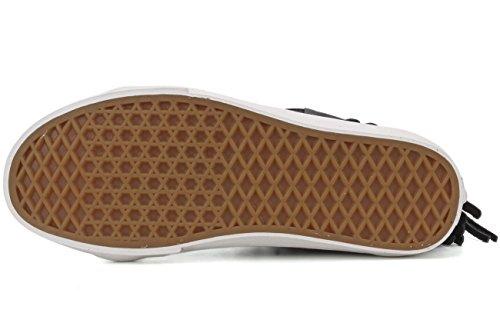 Vans SK8-HI Moc (Wildleder) Herren Skateboard-Schuhe VN-0315JTZ (Wildleder) Schwarz / Blanc