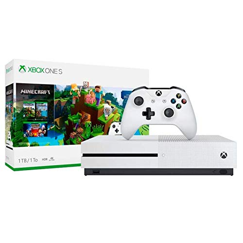 Console Xbox One S - 1TB - Minecraft Digital