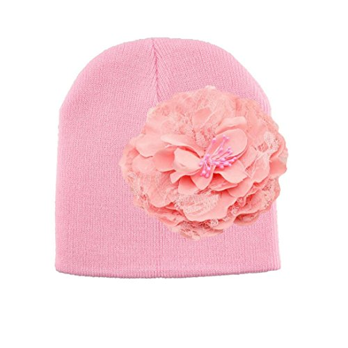 PHOTNO Flower Toddlers Infant Baby Girl Lace Hair Band Headband Headwear Hat (A) (Roman Head Wear)
