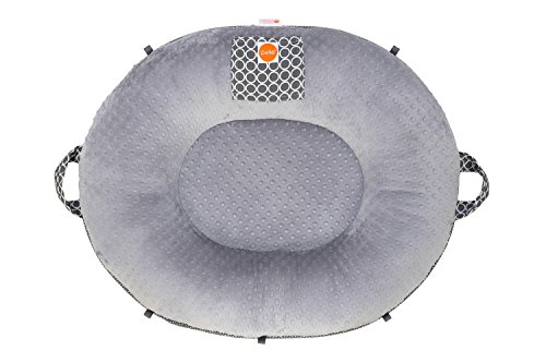 Premium Luxe Oval Floor Pillow – Majestic/Gray Review