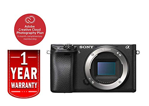 Sony Alpha a6300 Mirrorless Camera: Interchangeable Lens Digital Camera with APS-C, Auto Focus & 4K Video - ILCE 6300 Body with 3