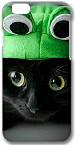 Cute Kitty Apple iPhone 6 Case, 3D iPhone 6 Cases Hard Shell Cover Skin Cases