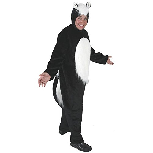 Adult's Skunk Halloween Costume (Size: Standard 42-46) ()