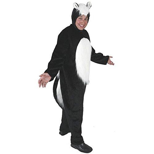 Adult's Skunk Halloween Costume (Size: Standard 42-46) (Skunk Costumes)