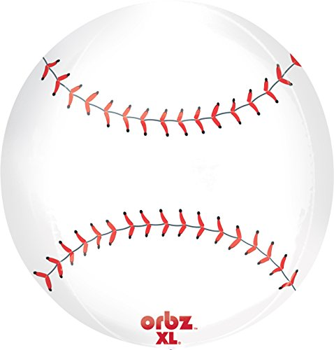 Anagram International Baseball Orbz Balloon Pack, 16