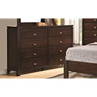Coaster 203493 Home Furnishings Dresser, Rich Brown
