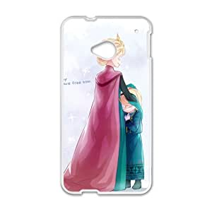 GKCB Frozen Princess Elsa and Anna Cell Phone Case for HTC One M7