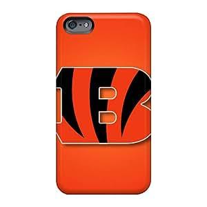 IanJoeyPatricia Apple Iphone 6 High Quality Hard Phone Covers Customized Vivid Cincinnati Bengals Image [GOw18117yvYe]