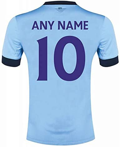 0bd5f5820 FOOTBALL SHIRT NAME AND NUMBER  Amazon.co.uk  Clothing