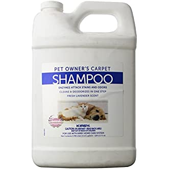 Kirby #237507S Pet Owners Foaming Carpet Shampoo (Lavender Scented)- 1 Gallon