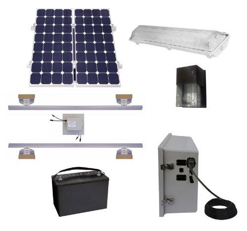 Shed Solar Lighting Kits - 9