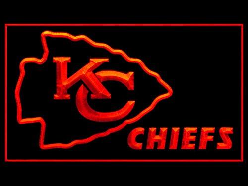 Kansas City Chiefs Neon Sign (Kansas City Chiefs Football Led Light Sign)