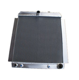 (Aluminum Radiator Chevy Pickup Truck AT/MT Fits Year 1948-1954)
