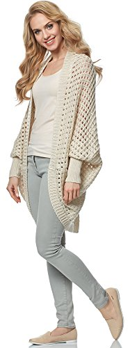 Merry Style Cardigan para mujer MSSE0032 Beige