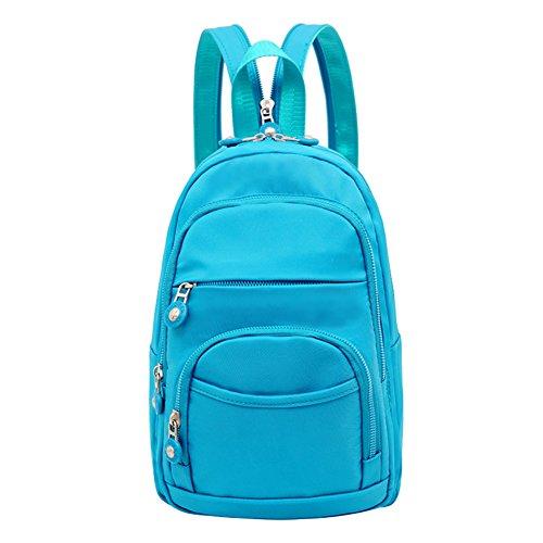 Mochila pequeña/Mochila de nylon/Pecho casual Mini Pack mochila/[bolsas de tela]/Bolsa de viaje-C C
