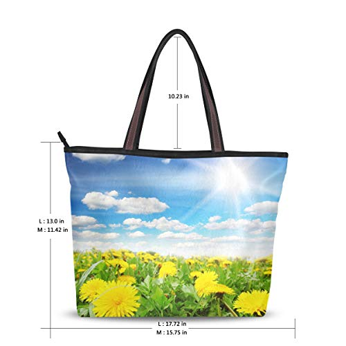 para XiangHeFu de 306 mujer poliéster de Bolso Image Large tela 4qqrw6F7