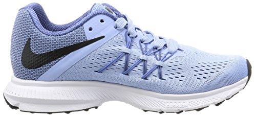 NIKE Wmns Nike Zoom Winflo Robinet 3–Aluminium/Polar de Black Blue Moon