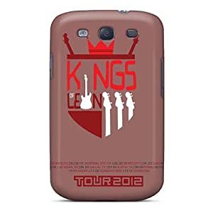 Anti-Scratch Cell-phone Hard Covers For Samsung Galaxy S3 (MCr2113trux) Customized HD Kings Of Leon Band Series