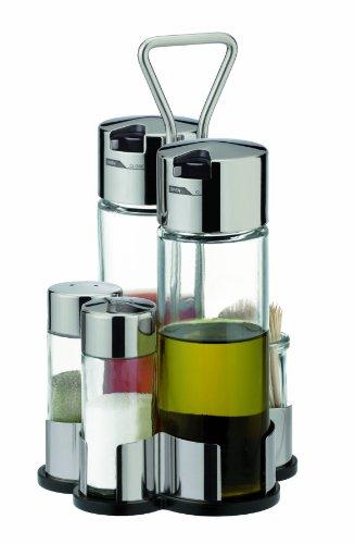 Tescoma Club Oil-Vinegar, Salt-Pepper and Toothpicks Set