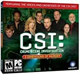CSI 3 DIMENSIONS OF MURDER JC (WIN XP)