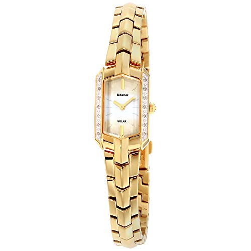(Seiko Women's Japanese Quartz Stainless Steel Watch, Color:Gold-Toned (Model: SUP330))