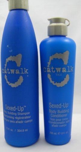 (Tigi Catwalk Sexed up Body Building Shampoo and Conditioner Duo 12 Oz/8 Oz by)