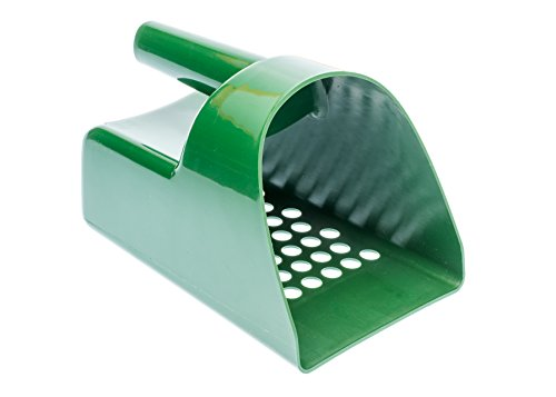 SE GP3-SS20 Prospector Series Green Sand Scoop for Metal Detecting ()