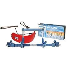 Gorilla Gym Children's Package, Indoor Children Swing, Red