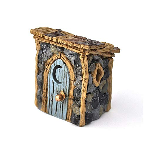 FAIRY GARDEN - Shingletown Outhouse - Accessories ()