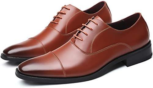 [スポンサー プロダクト][Firtsagy] ビジネスシューズ メンズ 革靴 レースアップシューズ ストレートチップ 紳士靴 本革 大きいサイズ ブラウン・ブラック 24.0cm-30.0cm