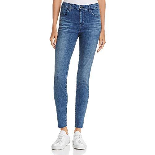 J Brand Womens Maria High Rise Skinny Leg Ankle Jeans Blue 28