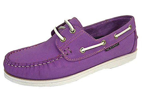 Shoes Ladies Yachtsman Nubuck Lilac Seafarer 5 UK 4 Boat Sizes Leather 8 Deck FnFYSwxrq