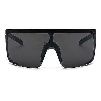 d52aad001b Oversized Sunglasses Women Large Square Sunglasses Men Transparent Frame  Vintage Sun Glasses (black)  Amazon.co.uk  Clothing