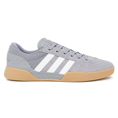 adidas City Cup Shoes - Grey/White/Gum Grey hYJq6b