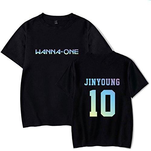 JUNG KOOK Kpop Wanna ONE Concert T-Shirt Jinyoung Sung Woon Jae-Hwan Daniel Shirt Tee