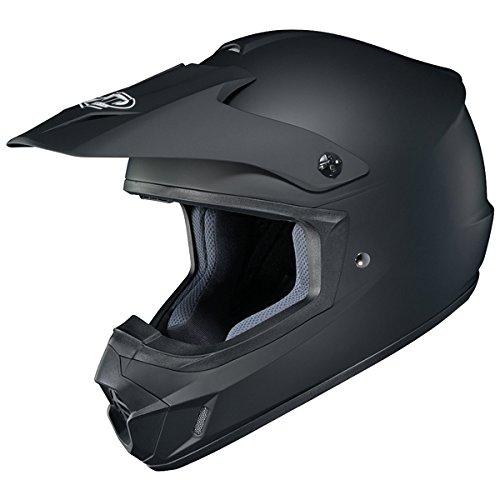 HJC CS-MX II - Casco de equitación para moto, Negro mate, XXX-Large