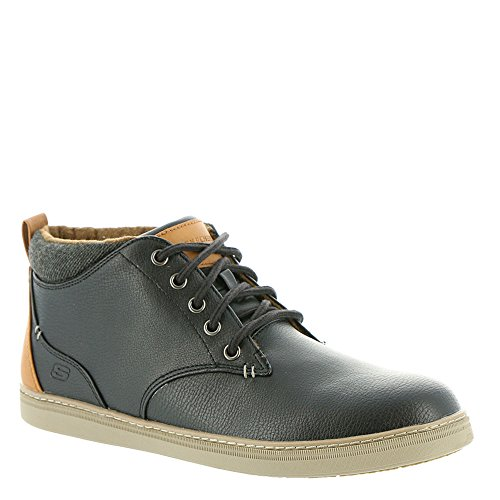 Skechers Mens Classic Fit Helmer Nero