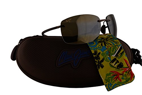 Maui Jim Kumu Sunglasses Metallic Gloss Cooper w/Polarized Bronze Lens - Glare Glasses Wiki Anti