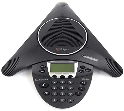 Polycom Soundstation IP 6000 2200-15600-001 For Poe - No Power Supply Included by Polycom