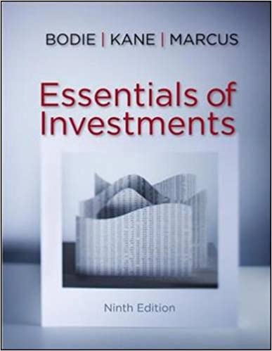 Essentials of Investments, 9th Edition