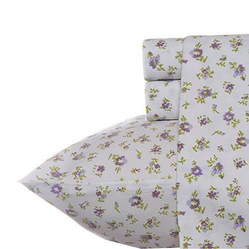 Laura Ashley Petite Fleur Sheet Set King ()