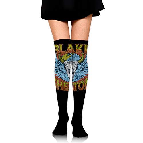 Gordon M Albers Blake Shelton Unisex One Size Classic Over Knee High Socks 60cm Thigh High Stockings -