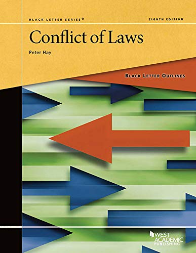 Black Letter Outline on Conflict of Laws (Black Letter Outlines) (English Edition)