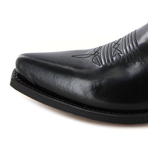 Tony MoraLEA - Botas De Vaquero Mujer Negro - Negro