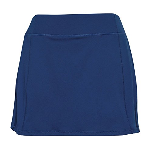 Tangerine Women's Active Skort With Perforated Trim (Large, Navy) by Tangerine