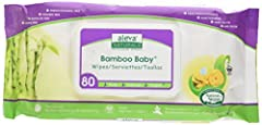 Short Description: Making a decision about which baby wipes to use on your baby is not a simple one… but with Aleva Naturals Bamboo Baby Wipes, it can be! Soft and gentle on delicate newborn skin, the unique blend of Organic Aloe Vera, Chamom...